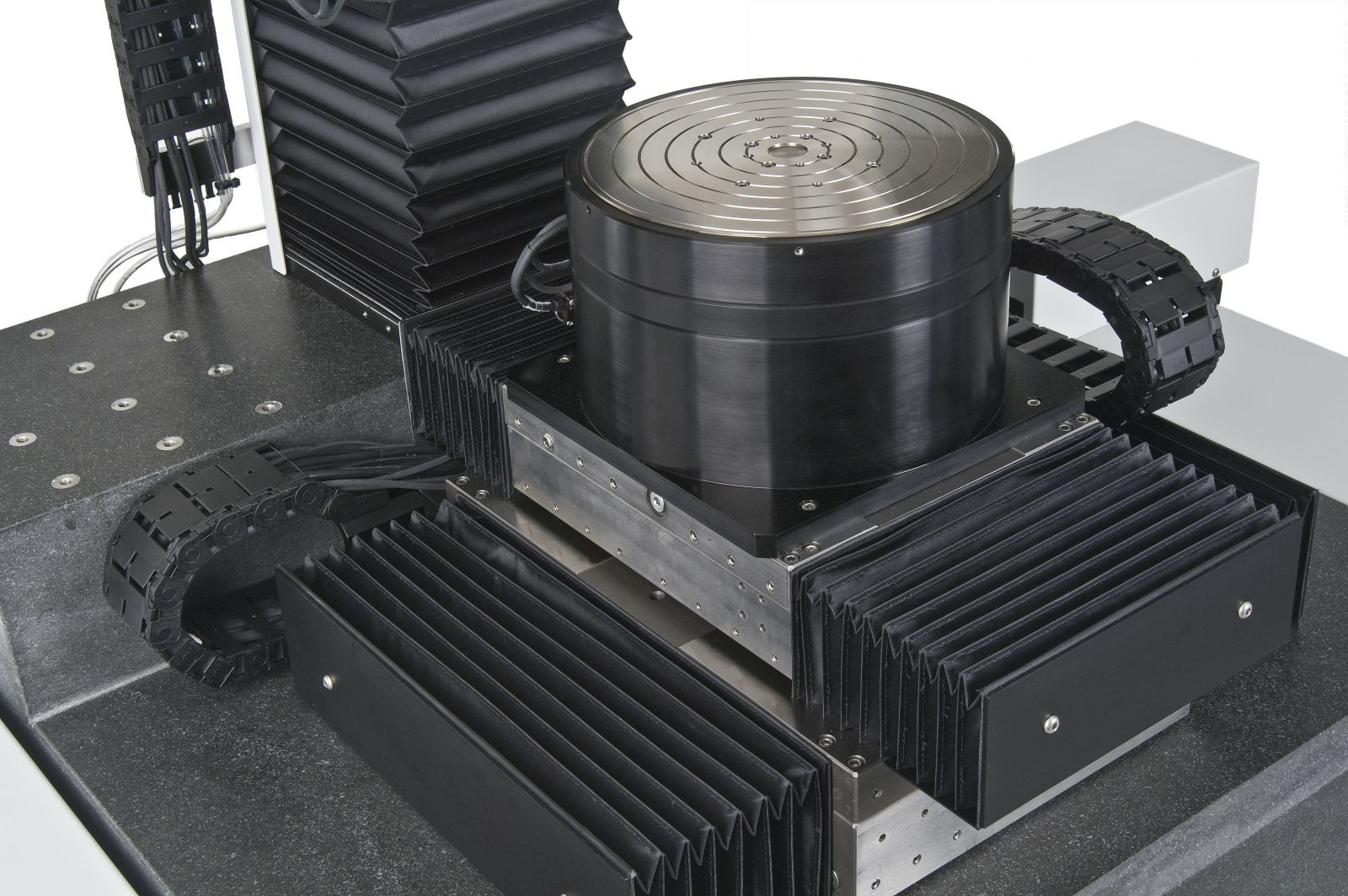Air Bearing Rotary Table ABTech Designs Optical Metrology Station with 5 Axes of Motion