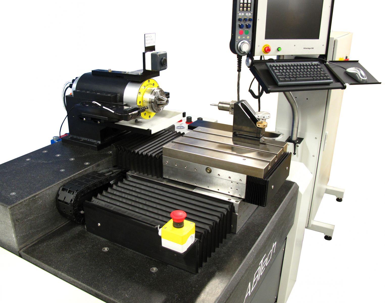 ABTech air bearing lathe and metrology work cell