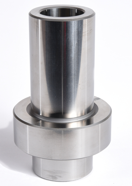 Master certification artifact - large precision-ground diameter and face surfaces to easily confirm system accuracy.