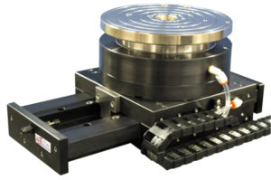 Linear air bearing stage custom X-theta