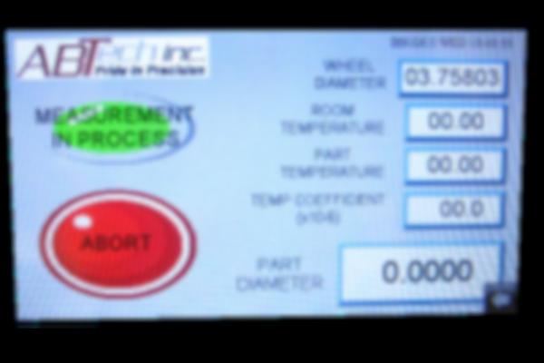DMG360 Touchscreen Interface