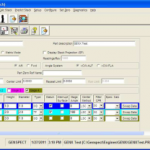 Genspect Software - Setup Screen