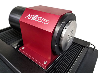 Mechanical bearing spindle achieves radial and axial error motion of < +/-20.0 µ (+/-.50 micron)