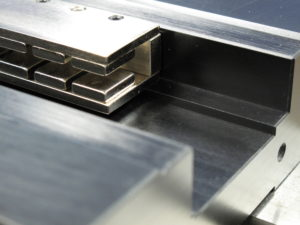 Air bearing linear stages motor drive options