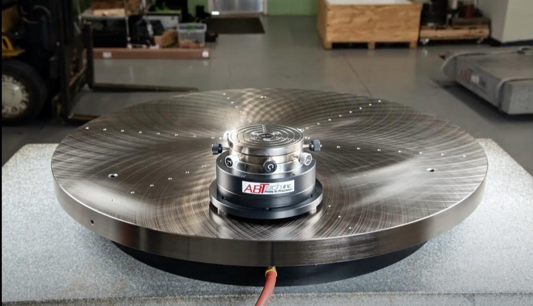 Air-Bearing Rotary Table