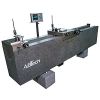 Setting master a natural granite base, air bearing slide for set up of I.D./O.D. beam type gages.