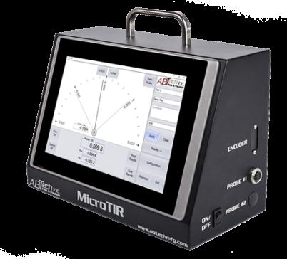 Micro TIR shown with single probe adaptor